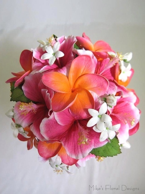 Fake Wedding Flowers Frangipanis : Artificial wedding bouquets quality silk flowers