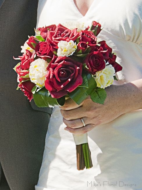 Artificial Wedding Bouquets Quality Silk Flowers