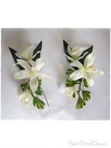 Artificial Mini Orchid Hairpieces