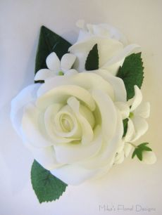 Rose and Stephanotis Corsage