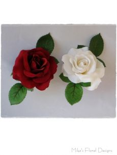 Single Silk Rose for Chair Cover/Sash