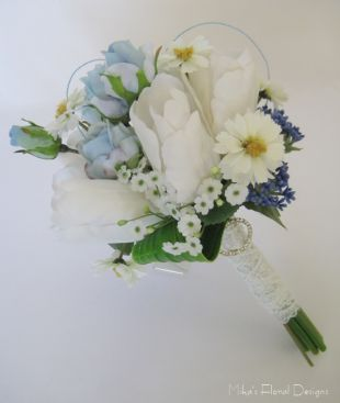 Bridal Posy of Mixed Flowers
