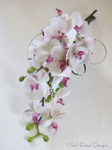 Artificial Phalaenopsis Orchid Armsheaf Bouquet for Wedding