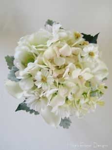 Artificial Mixed Flowers Bridal Bouquet (Rustic Style)